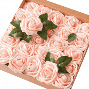 Lings moment Artificial Flowers Blush Roses