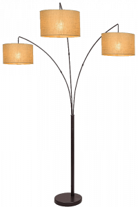Revel. Kira Home Akira Modern 3-Light Arc Floor Lamp