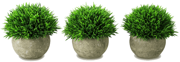 Velener Mini Fake Potted Green Grass