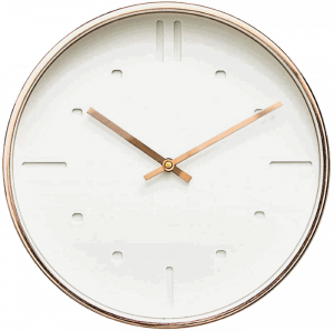 Arospa Luxury Modern Silent Non-Ticking Wall Clock