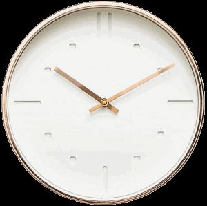 Arospa Luxury Modern Silent Non-Ticking Wall Clock