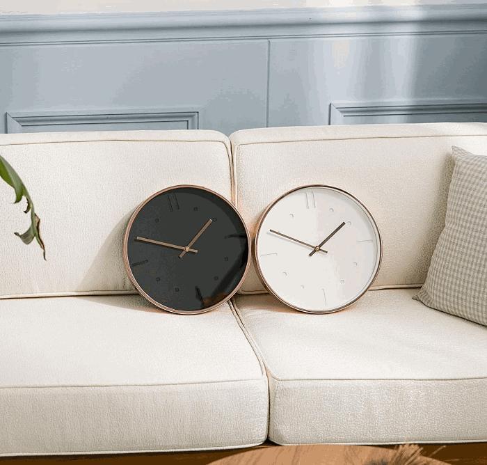 Arospa Luxury Modern Silent Wall Clock