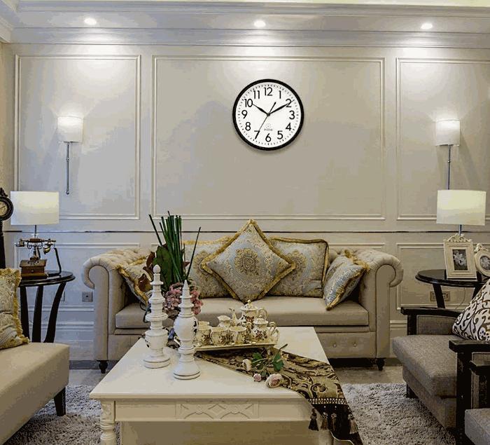 DreamSky Silent Non-Ticking Wall Clock