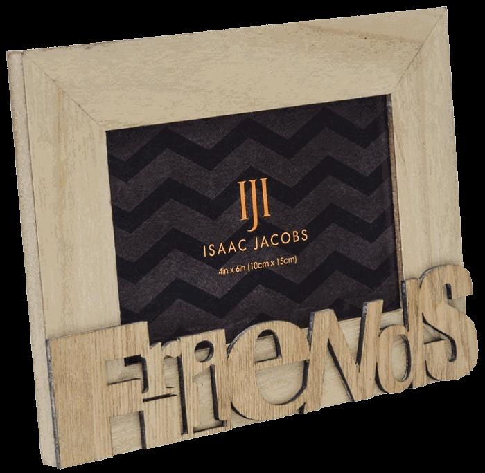 Isaac Jacobs Natural Wood Frame