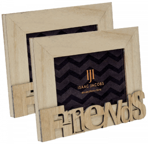 Isaac Jacobs Natural Wood Sentiments Frame