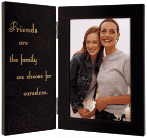 Malden International Designs Friends are the Family We Choose for Ourselves hinged Picture Frame