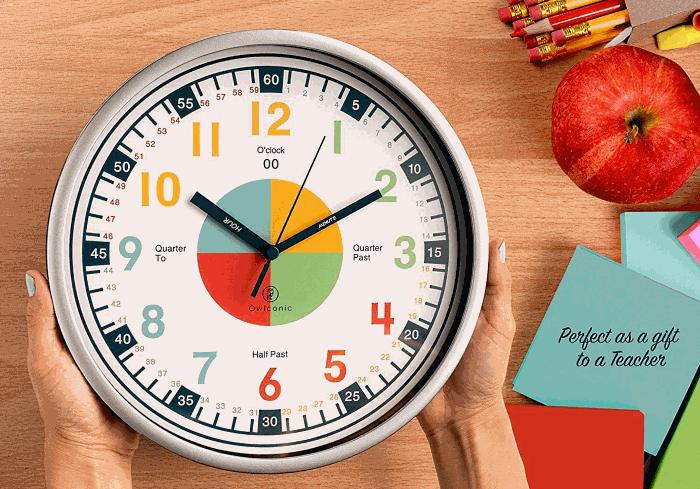 OWLCONIC Teaching Clock