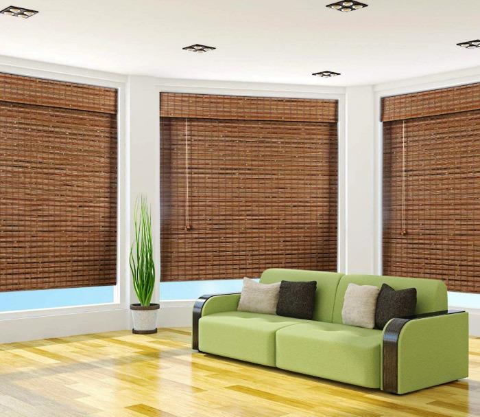 Arlo Blinds Bamboo Roman Shades