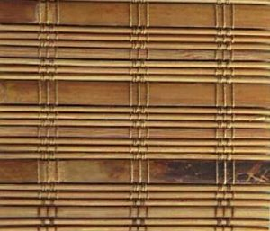 Arlo Blinds Dali Native Bamboo Roman Shades