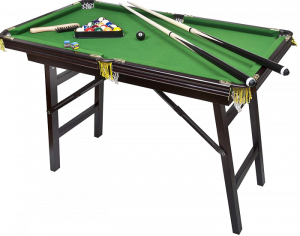 Bello Games New York Deluxe Folding Pool Table