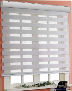 Custom Horizontal Zebra Window Shade