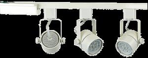 Direct Lighting Brand H System 3 Light Track Light