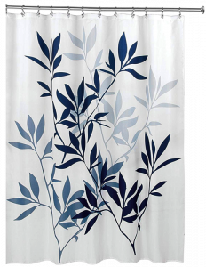 InterDesign Fabric Shower Curtain