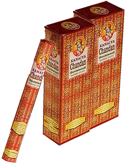Kanaiya Sandalwood Incense Sticks