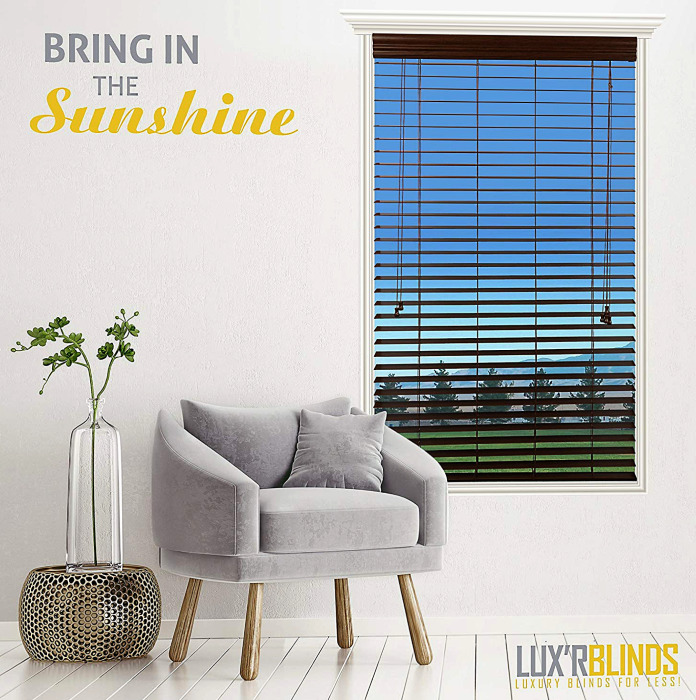 Luxr Blinds Real Wood Blinds