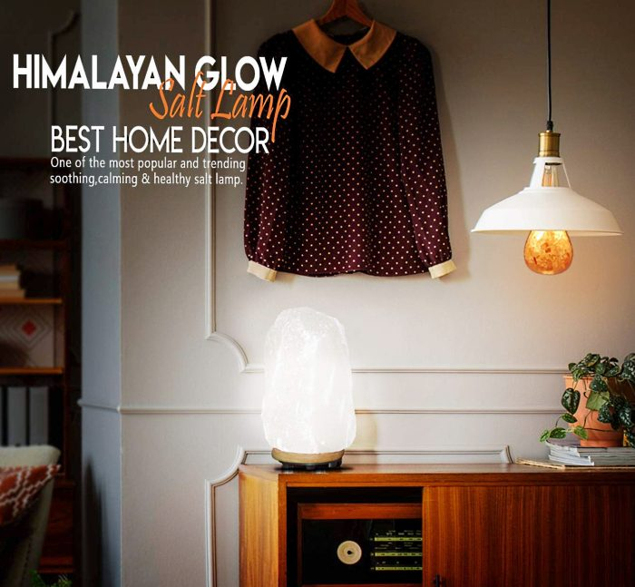 Himalayan Glow Rare Large Salt Lamp